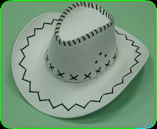 Как сделать ковбойскую шляпу своими руками