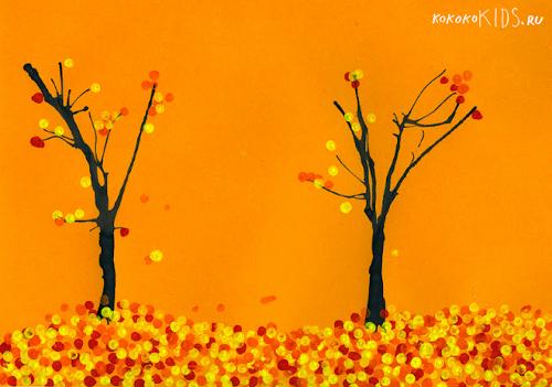 Поделки для осень с рисунками
