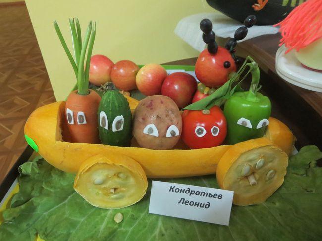 Овощной переполох поделка